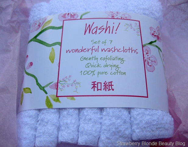 Washi Wash Cloths
