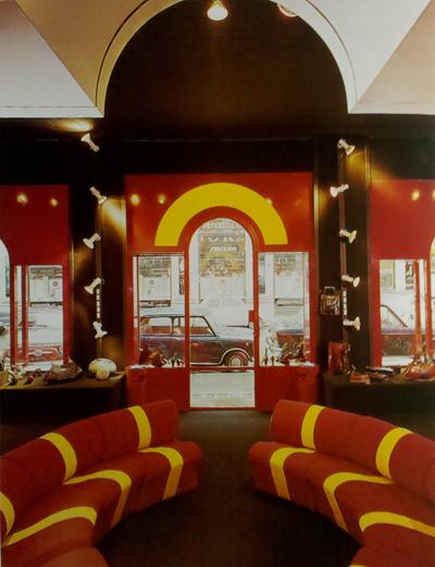Chiocciola chair at Skin Up, 1972