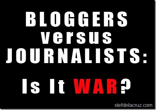Blogs versus newspapers