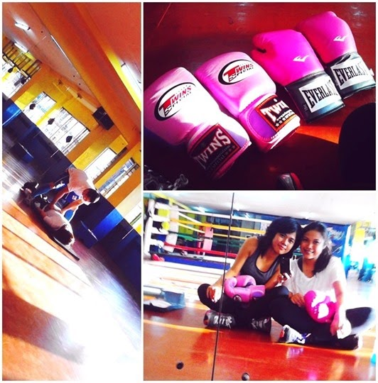 Boxing at Elorde Gym