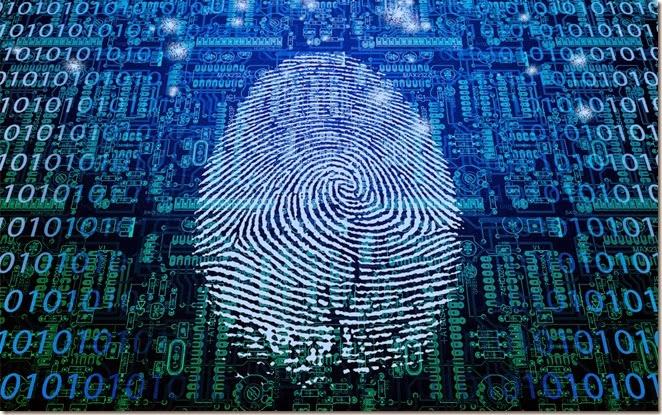 Finger print lock app