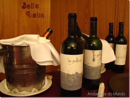 Vinhos La Perdices Amici del Vino Hotel Bella Italia BlogTurFoz Foz do Igaçua