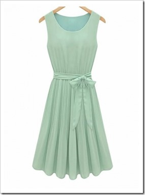 green-summer-dress-sleeveless-pleated-chiffon-round-neck-dress-hxa1809-321