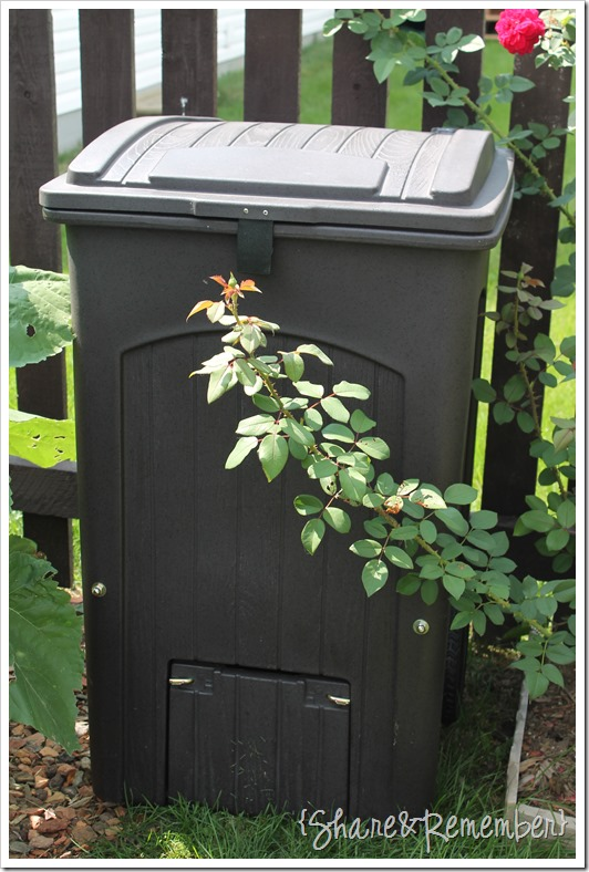 Toter Composter in the garden