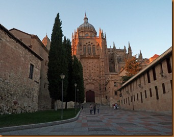 Salamanca Old cathedral N