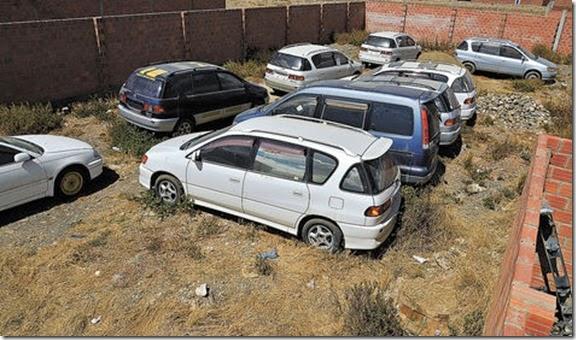Robo de autos en Bolivia