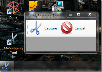 My Snipping Tool screenshot