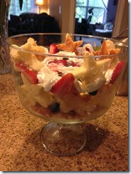 RGA Strawberry Shortcake Trifle
