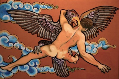 Zeus and Ganymede