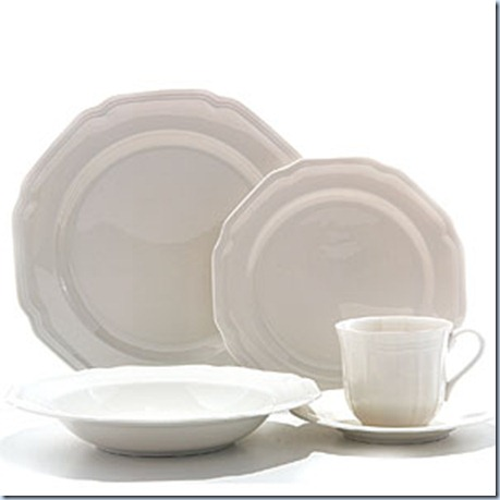 mikasa antique white dinnerware