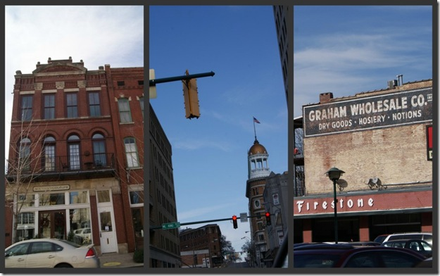 Downtown collage