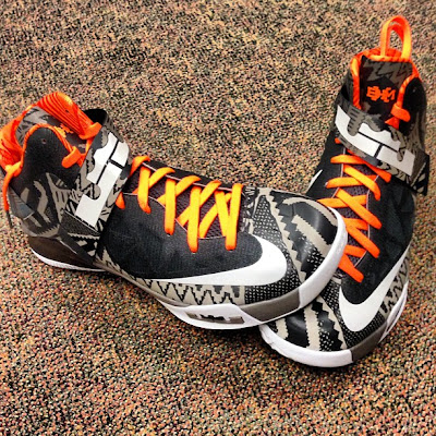 nike zoom soldier 6 pe black history month 2 02 Eric Bledsoe and Dejuan Blair Showcase LeBrons BHM Kicks