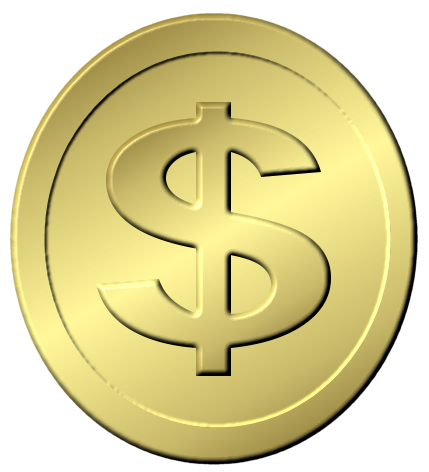 gold dollar coin