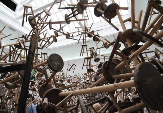 Ai-Weiwei-bang-installation-at-Venice-Art-Biennale-2013-Venice
