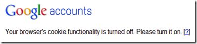 Google browser cookies