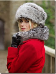 Perilla Cossack Faux Fur Hat