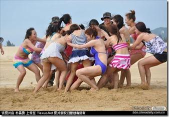 Beginilah Pengawal Peribadi Wanita Berlatih Di China