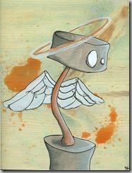 robot angel