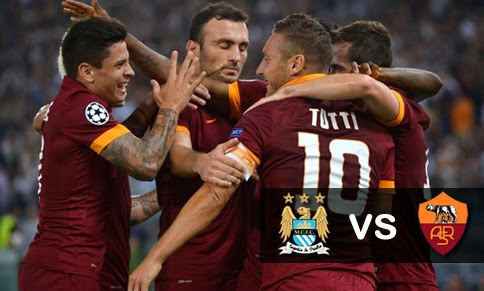 Manchester City vs Roma en vivo