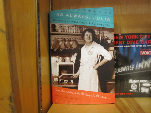 As Always, Julia -- a collection of letters exchanged between Julia Child and her friend Avis Devoto.