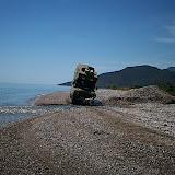Am Strand in Griechenland: Pelleponese 2008