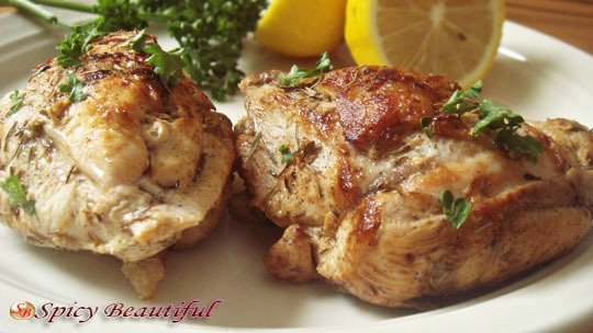 Pan-Fried-Lemon-Thyme-Chicken