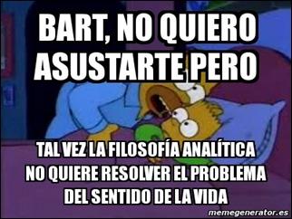 filosofia analítica problemas filosóficos Simpsons