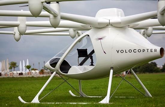 Helicóptero Volocopter elétrico 05