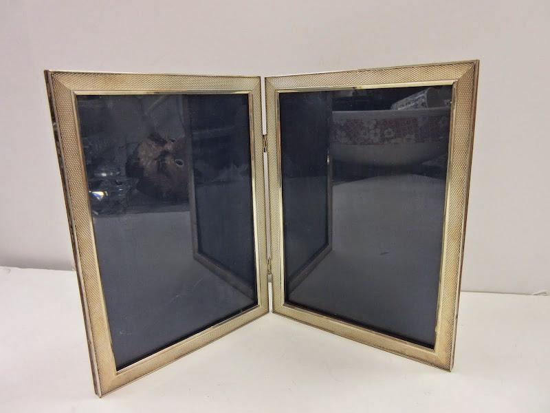 Sterling Silver Bi-Fold Picture Frame