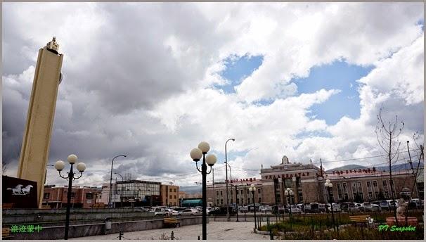 乌兰巴托火车站前
