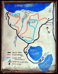 01 - Lake Louisa Campground Map
