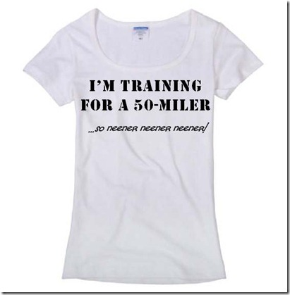 50 Mile Training Shirt