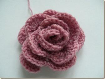 Crochet Spot - rose