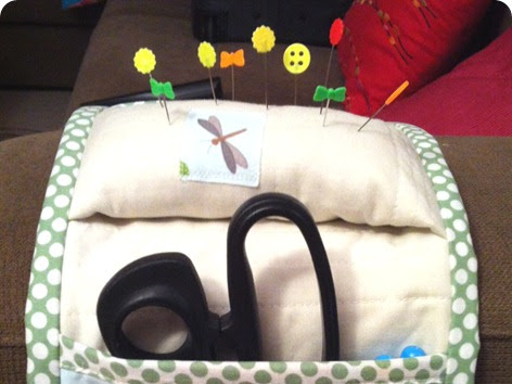 Armrest Sewing Caddy