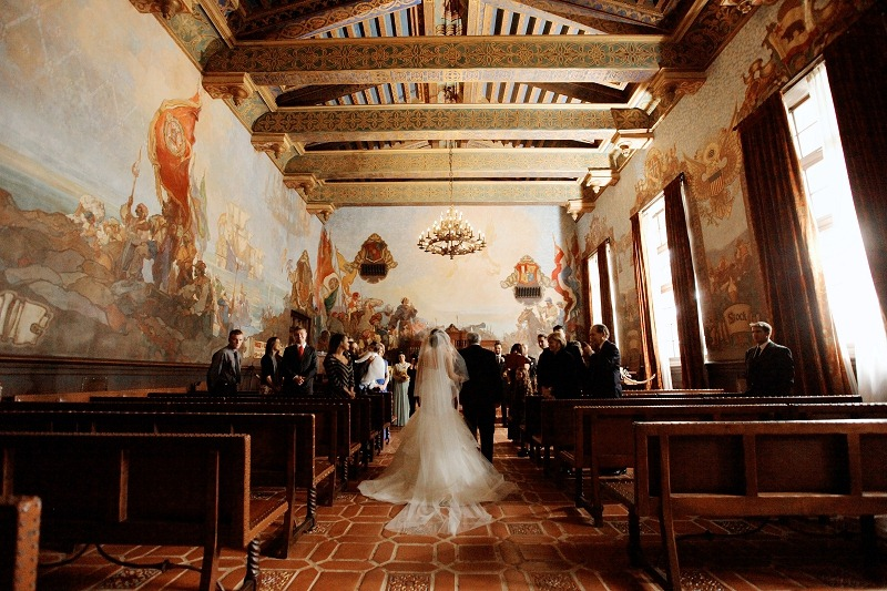 14 Oak and the Owl _ Santa Barbara Courthouse Wedding