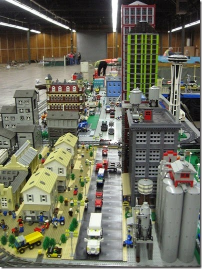IMG_0248 Greater Portland Lego Railroaders Layout at the Great Train Expo in Portland, Oregon on February 16, 2008