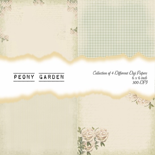 Peony Garden Front Sheet