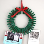 Jess-Craftiness is not Optional-Clothespin Wreath