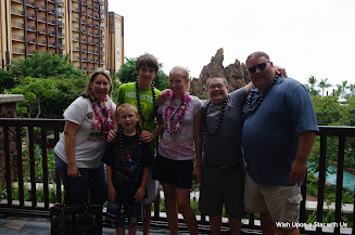 family at Aulani