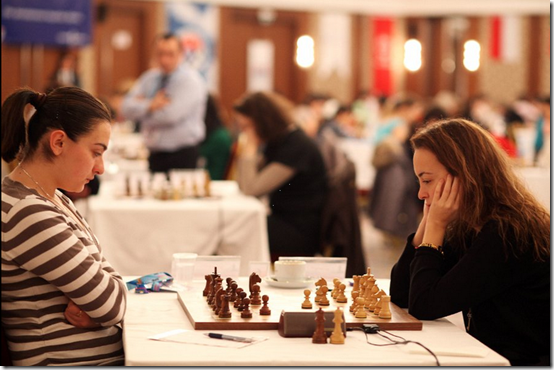 GM Stefanova vs WIM Arabidze