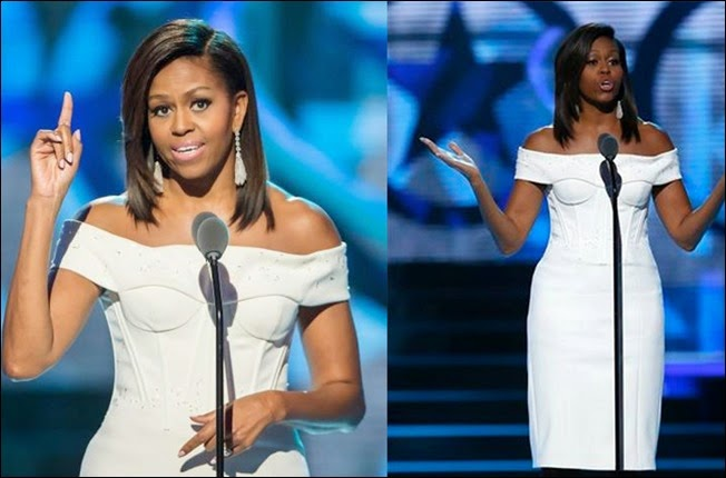 Michelle Obama Outfit in Black Girls Rock award ceremony