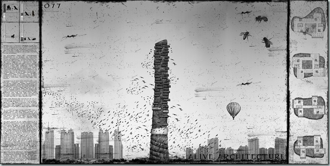 Kjellgren Kaminsky Architecture_The Tower of Nests_ China
