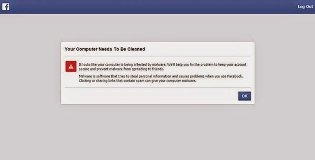 Cómo funciona ESET Online Scanner en Facebook