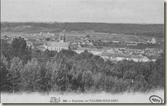panorama sur Villiers-sous-Grès