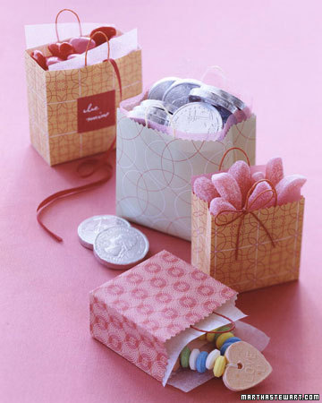 These treat bags are a great idea for kids to give as gifts.