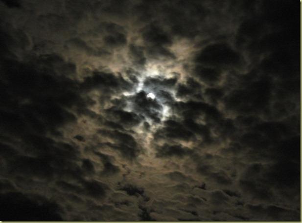 Cloudy Moon 2