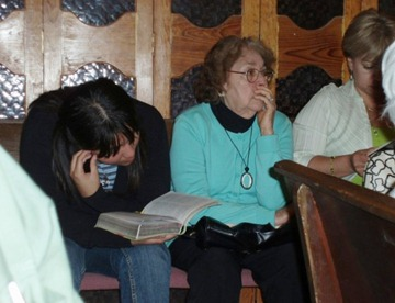 Bible Study in Ciudad Victoria, Mexico