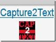 Trasformare in testo i caratteri di un' immagine e la voce al microfono con Capture2Text