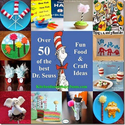 Dr Seuss Activities 50 Kitchen Fun 3 Sons