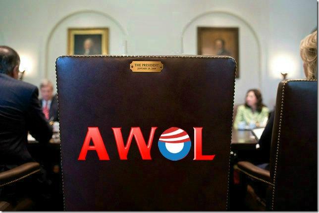 Obama-AWOL